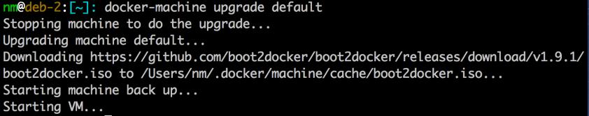 docker-machine-upgrade-default